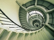 ponce inlet lighthouse spiral staircase